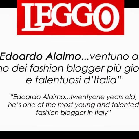 "Edoardo Alaimo "" Leggo"""