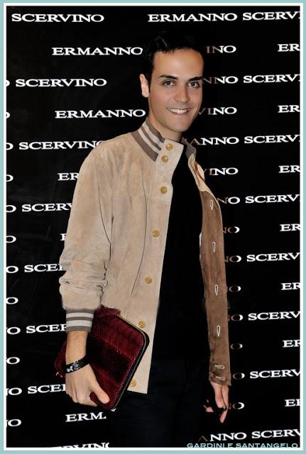 Edoardo Alaimo- Ermanno Scervino opnening