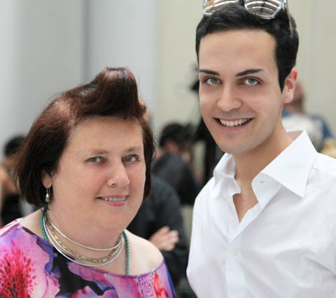<!--:it-->Edoardo Alaimo e Suzy menkes<!--:-->