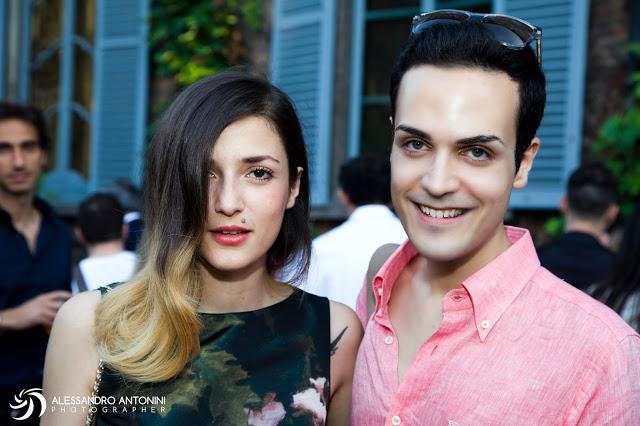 Edoardo Alaimo ed Eleonora Carisi