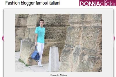Edoardo Alaimo top fashion blogger