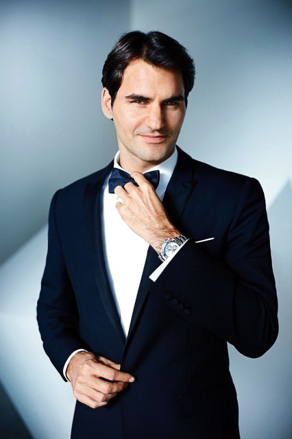 Edoardo Alaimo Rolex Daytona Roger Federer