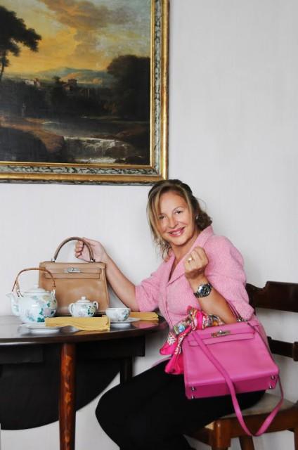 Hermès Kelly bags Grazia Pitorri1