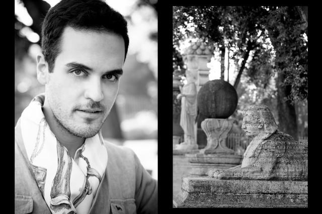 Edoardo Alaimo outfit Villa Borghese Roma8