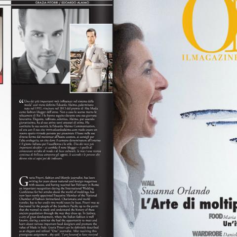 <!--:en-->ONE - Il magazine dei numeri uno<!--:-->