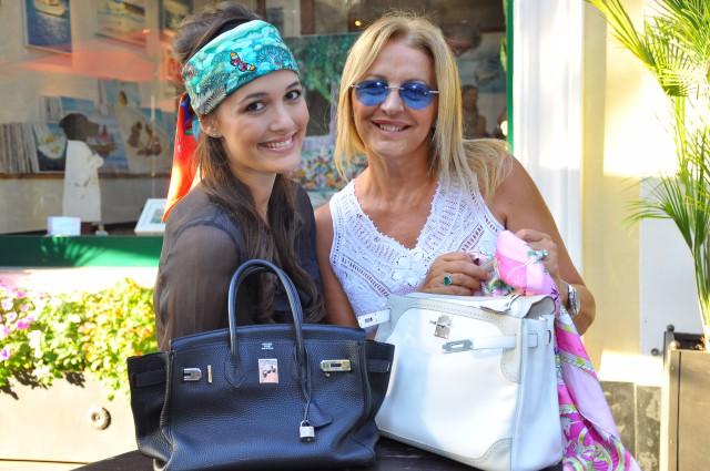 Kelly Ghilles Hermès e giacca Chanel  Grazia Pitorri3