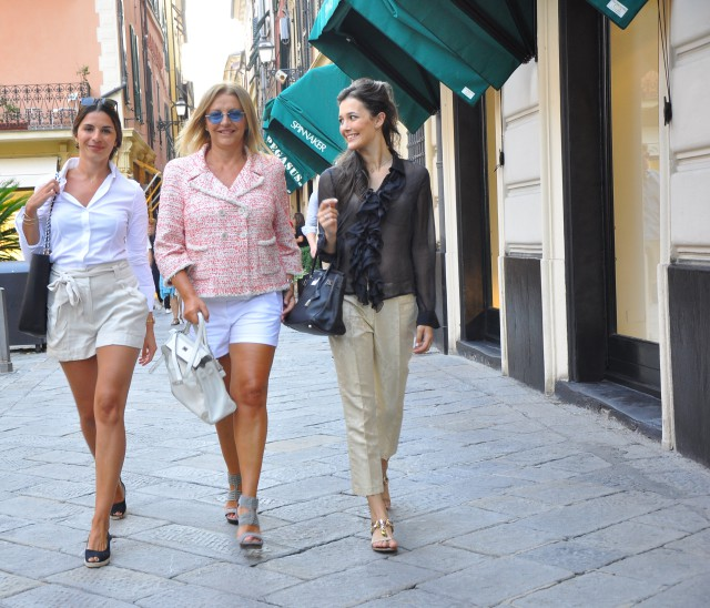 Kelly Ghilles Hermès e giacca Chanel  Grazia Pitorri4