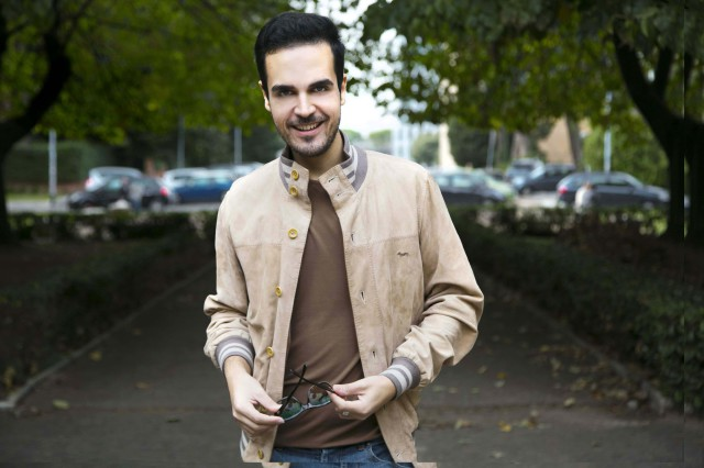 Edoardo Alaimo outfit autunno beige6
