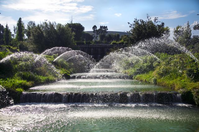 Fontana dell' Eur Roma Edoardo Alaimo