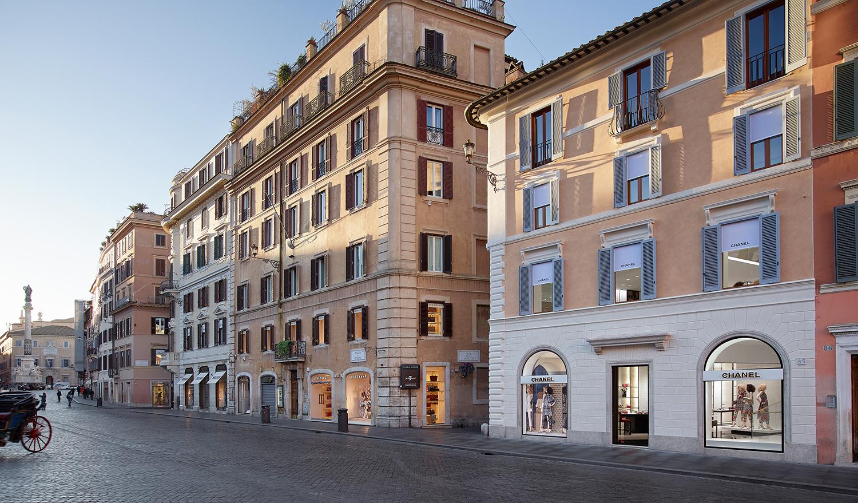 Chanel apre la nuova boutique di piazza di spagna a roma for Boutique rome