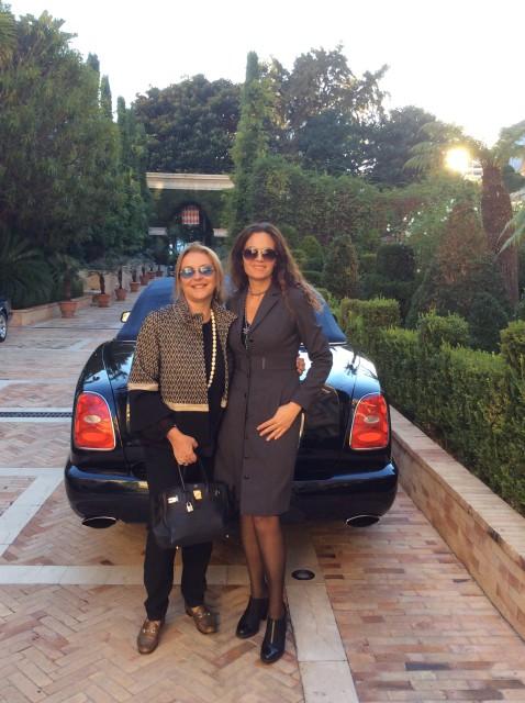 Grazia Pitorri Bentley Montecarlo Edoardo Alaimo
