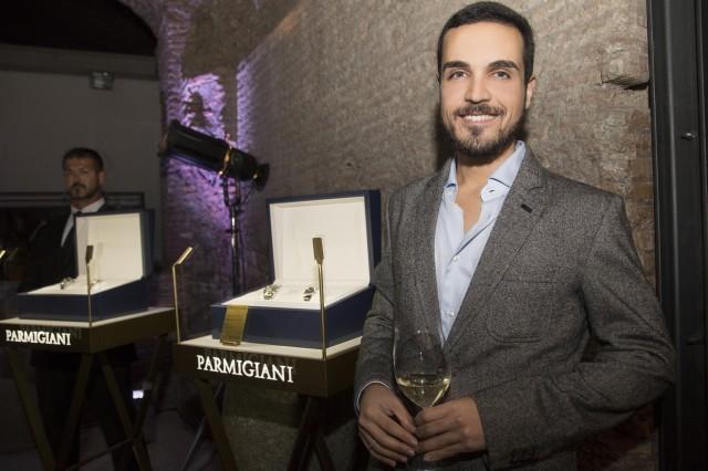 Edoardo Alaimo Parmigiani Fleurier orologi evento Roma