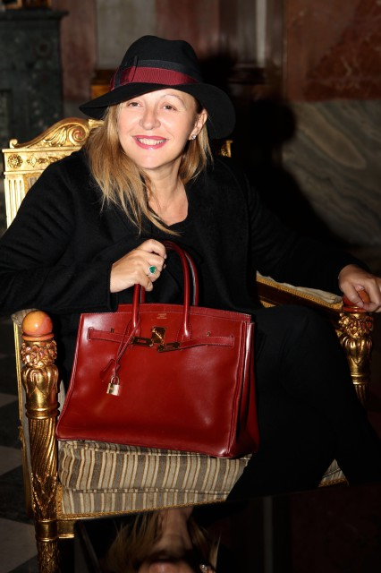 Hermès Birkin rouge Edoardo Alaimo