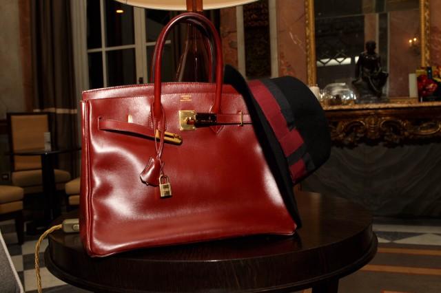 Hermès Birkin rouge Edoardo Alaimo1