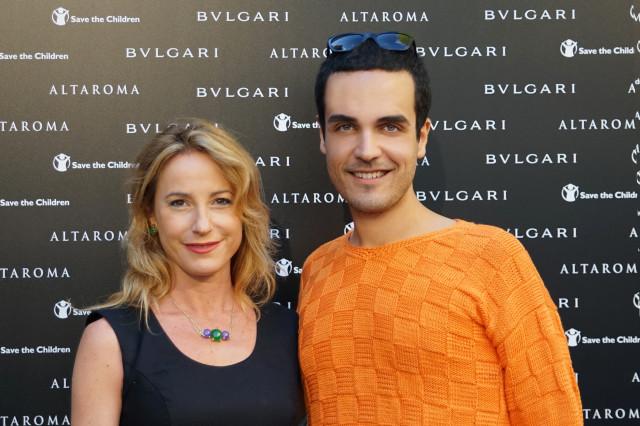 Edoardo Alaimo Bulgari event