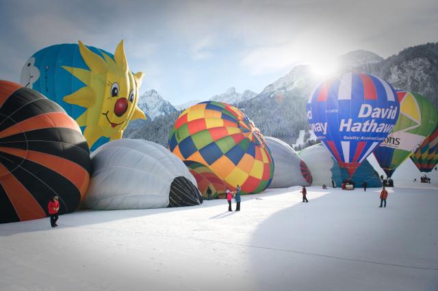 Parmigiani Fleurier Gstaad international balloon festival Edoardo Alaimo11