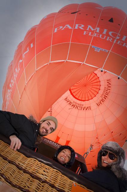 Parmigiani Fleurier Gstaad international balloon festival Edoardo Alaimo1