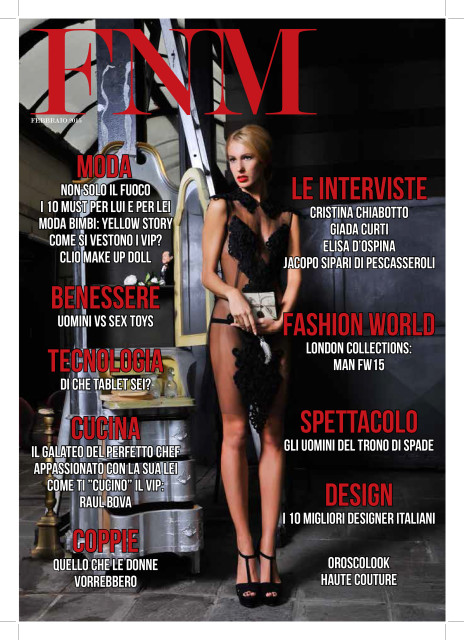 Copertina FNM Magazine febbraio