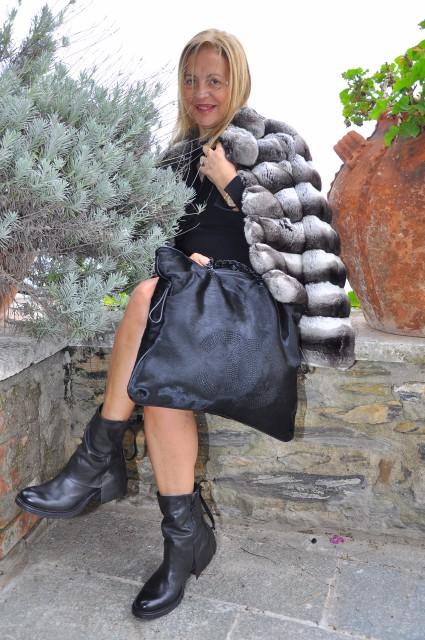 Grazia Pitorri Chanel e cincilla Edoardo Alaimo1