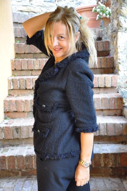 Grazia Pitorri Chanel e cincilla Edoardo Alaimo3