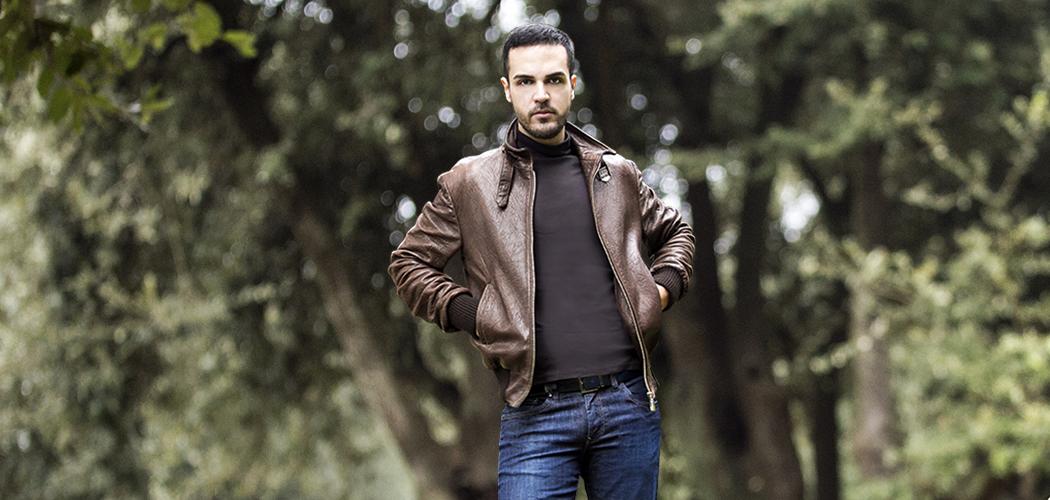 Molto La mia giacca di pelle e uno stile street outfit a Villa borghese  VT59