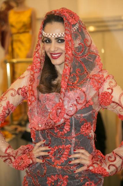 abito Emirati Arabi Tahm couture