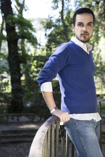 Edoardo Alaimo Villa Ada outfit6
