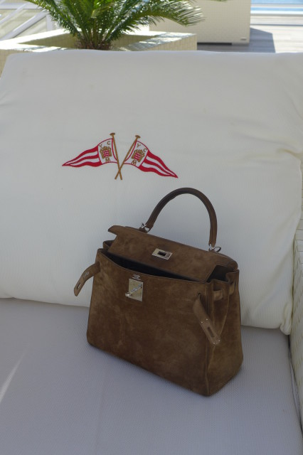 Yacht club Montecarlo  Hermès Kelly bag