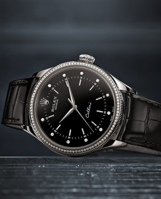 Rolex Cellini Time Edoardo Alaimo