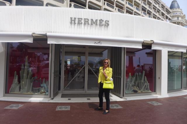 Festival di Cannes Hermès boutique1