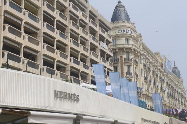 Festival di Cannes Hermès boutique3