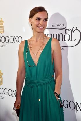 Natalie Portman Divine Cannes De Grisogono