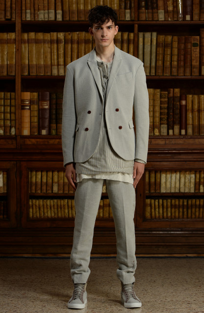 Trussardi men's collection S/S 2016 Edoardo Alaimo6