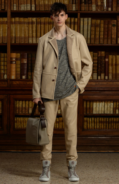 Trussardi men's collection S/S 2016 Edoardo Alaimo7