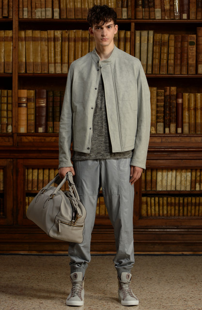 Trussardi men's collection S/S 2016 Edoardo Alaimo8