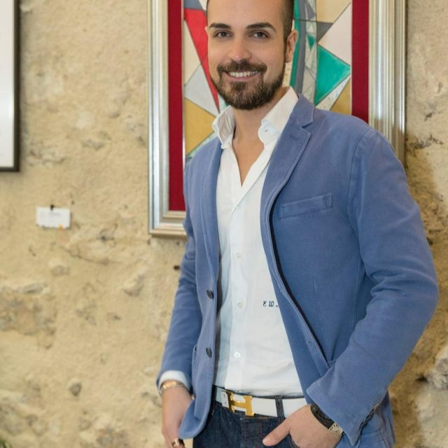 Some weeks ago wearing massimorebecchi And sivigliaofficial at letizialomonaco artexhibitionhellip