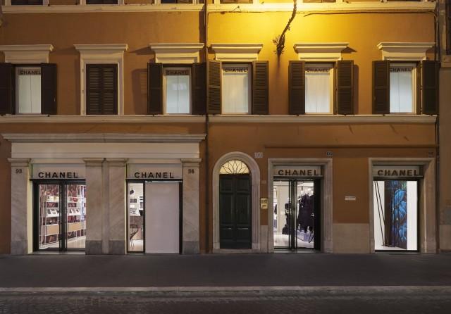 Rome Chanel ephemeral boutique Edoardo Alaimo1