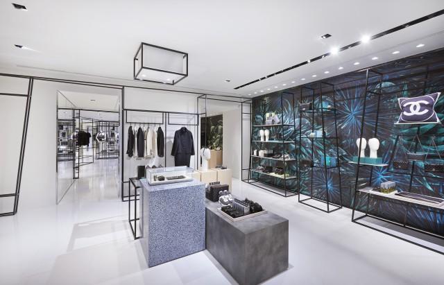 Rome  Chanel ephemeral boutique Edoardo Alaimo2