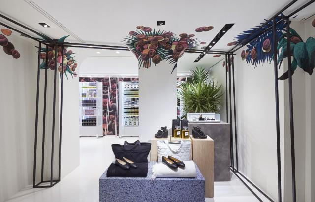 Rome  Chanel ephemeral boutique Edoardo Alaimo3