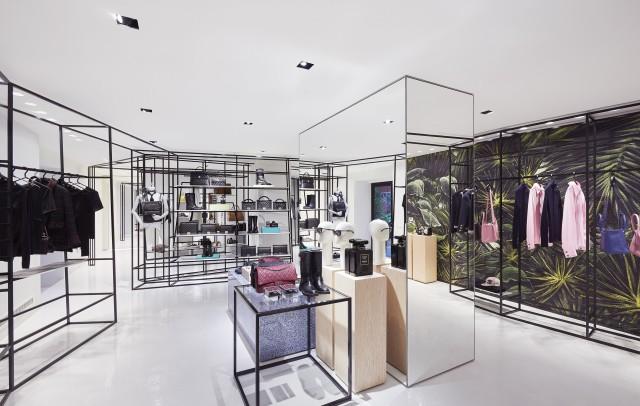 Rome  Chanel ephemeral boutique Edoardo Alaimo6