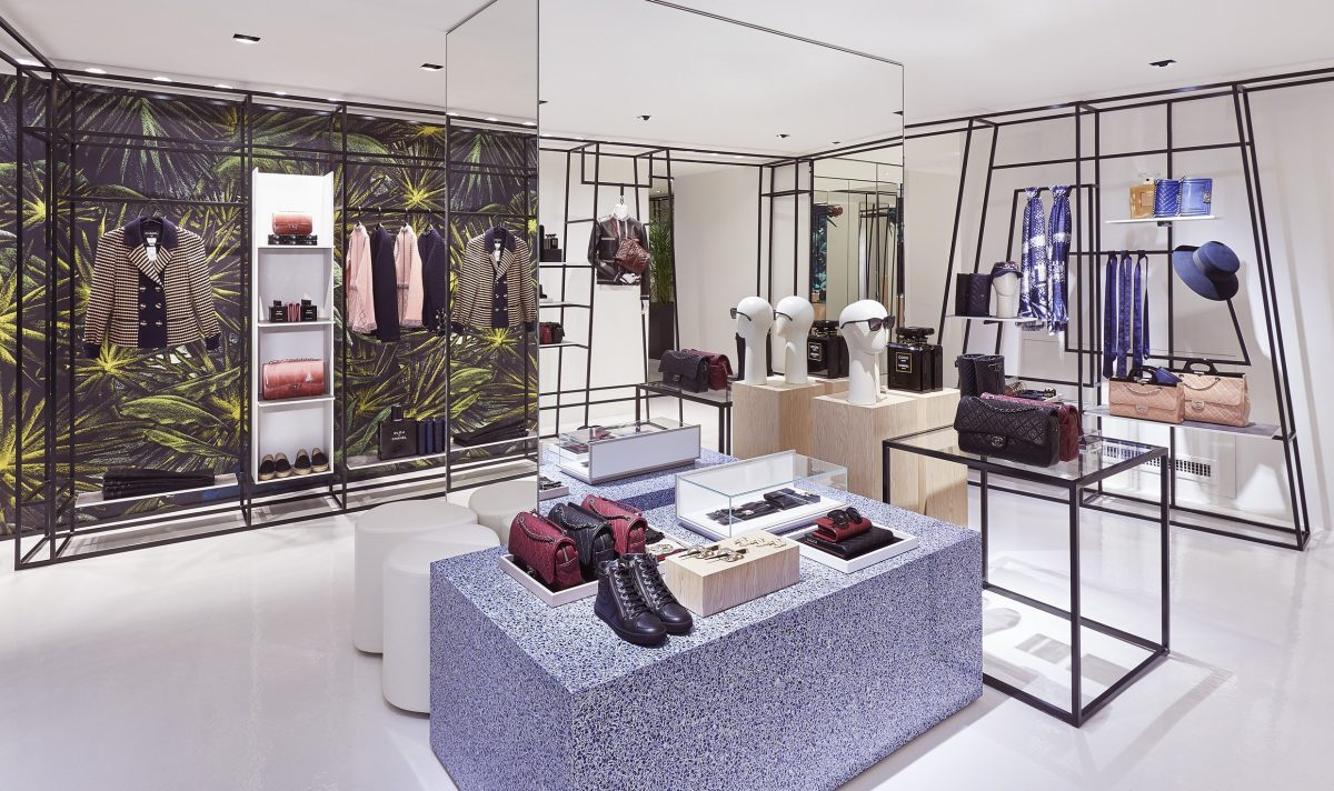 La nuova boutique effimera di chanel in via del babuino for Boutique rome