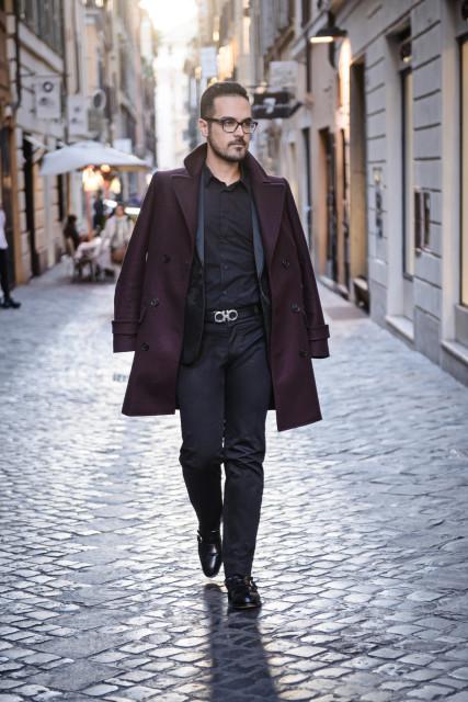 boutique di Roma Van Cleef&Arpels look Edoardo Alaimo1