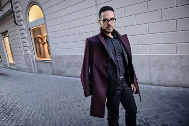boutique di Roma Van Cleef&Arpels look Edoardo Alaimo2