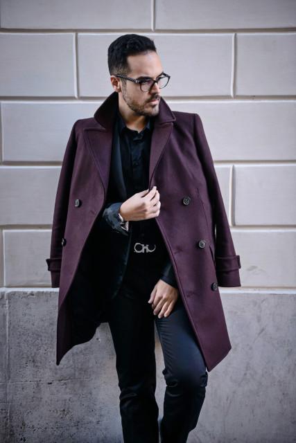 boutique di Roma Van Cleef&Arpels look Edoardo Alaimo3