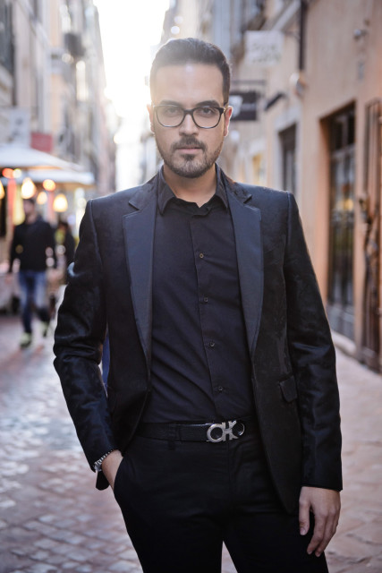 boutique di Roma Van Cleef&Arpels look Edoardo Alaimo5
