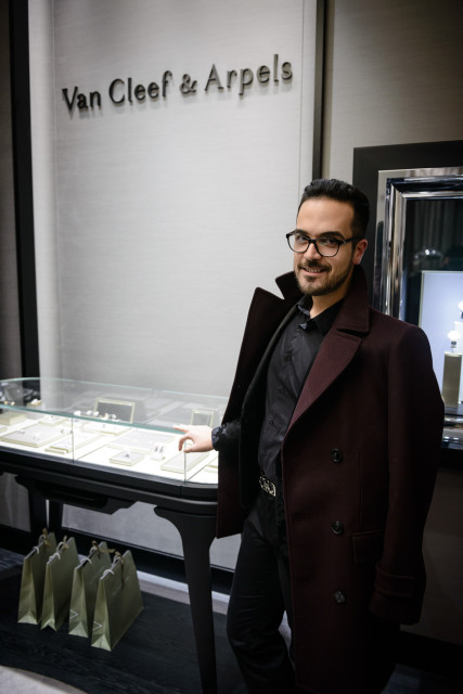 Van Cleef&Arpels apre una nuova boutique a Roma Edoardo Alaimo8