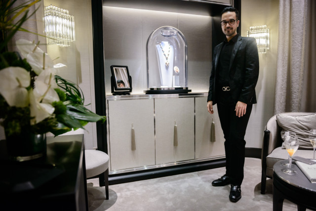 Van Cleef&Arpels apre una nuova boutique a Roma Edoardo Alaimo11