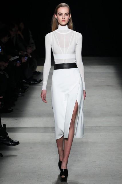 Narciso Rodriguez New York fashion week f/w 2015-2016 Edoardo Alaimo1