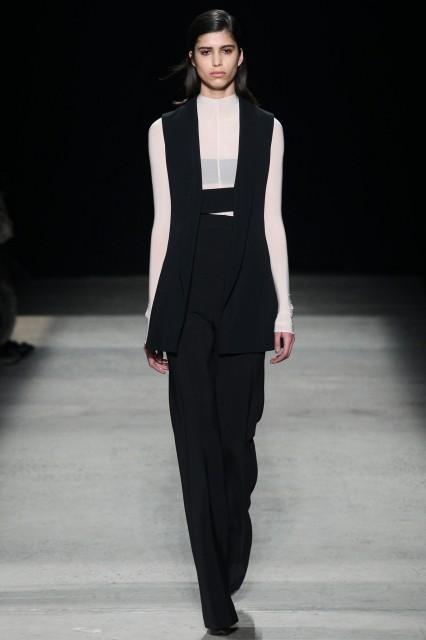 Narciso Rodriguez New York fashion week f/w 2015-2016 Edoardo Alaimo2
