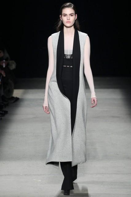 Narciso Rodriguez New York fashion week f/w 2015-2016 Edoardo Alaimo3